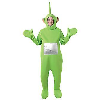 Dipsy Teletubbies Kostüm für Erwachsene