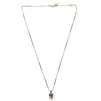 Alexander Mcqueen 582694j160k2076 Women's Gold Brass Necklace