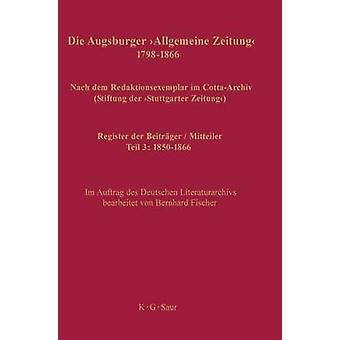 Register der Beitrger  Mitteiler by Fischer & Bernhard