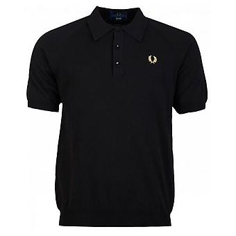 Fred Perry Re-issues Raglansleeve Knitted Shirt