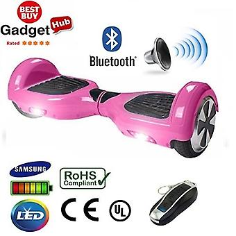 "H1 - 6,5"" California Pink Bluetooth Hoverboard Segway"