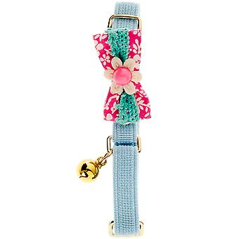 Ferribiella Cat Collar Sweet Flower  (Cats , Collars, Leads & Harnesses , Collars)