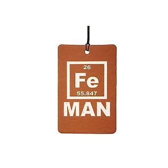 Periodic Iron Man Car Air Freshener