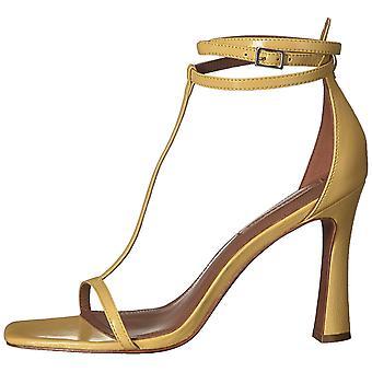 BCBGMAXAZRIA Womens Ina Box Calf Leather Peep Toe Casual Slide Sandals