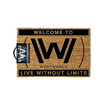 Official Westworld Live Without Limits Door Mat
