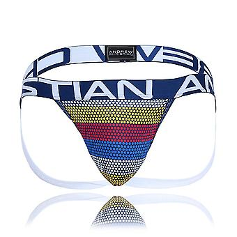 Andrew Christian Frequency Stripe Jock w/ Almost Naked  | Heren Ondergoed | Heren Jockstrap