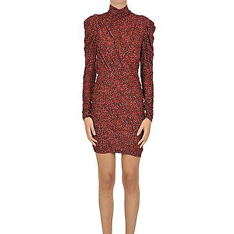 Isabel Marant Ezgl287035 Women's Red Viscose Dress