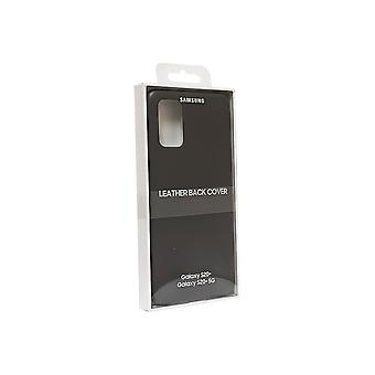 Samsung Leather Cover for Galaxy S20 Plus - Gray