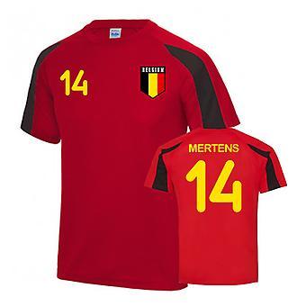 Belgien Sport Utbildning Jersey (Mertens 14)
