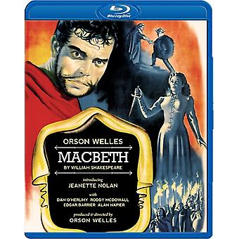 Macbeth (1948) [BLU-RAY] USA import