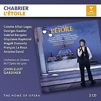 Chabrier / Gardiner, John Eliot - L'Etoile [CD] USA import