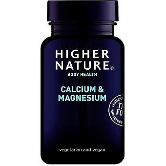 Higher Nature True Food Calcium & Magnesium Vegitabs 120 (TCM120)