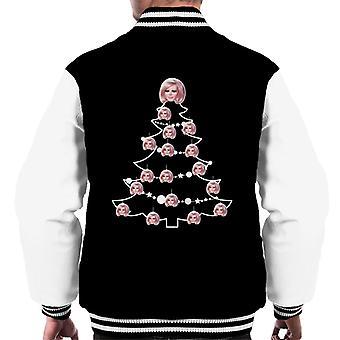 Thunderbirds Weihnachtsbaum Lady Penelope Männer's Varsity Jacke