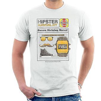 Haynes Hipster Kit Eiere Workshop Manuell Menn's T-skjorte