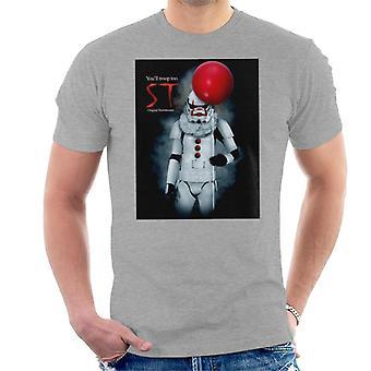 Original Stormtrooper ST Clown Parody For Light Men's T-Shirt