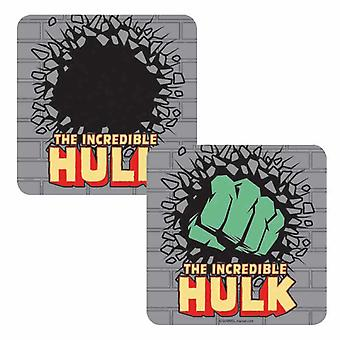 Hulk Coaster Incredible Hulk Smash new Official Marvel Lenticular
