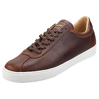Superga 2843 Clubs Oiledleam Sport Mens Fashion Trainers in Cognac