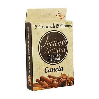 Cinnamon Incense Cones 15 units