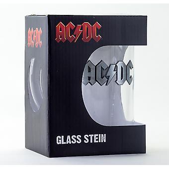 Ac / DC Logo Stein