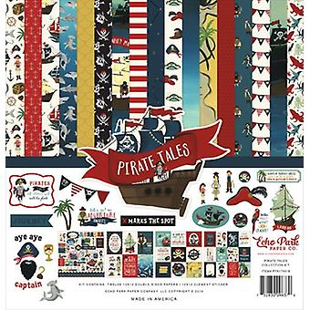 Echo Park Pirate Tales 12x12 Inch Collection Kit
