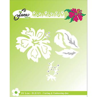 By Lene Hawaii Flower Cutting & Embossing Die