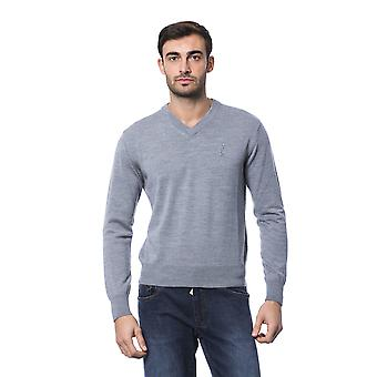 Milliardaire italien Couture Grich Lt Grey Sweater -- BI81209200