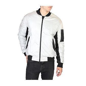 EA7 - Clothing - Jackets - 6YPB41_PNE5Z_1988 - Men ' silver,black - XL