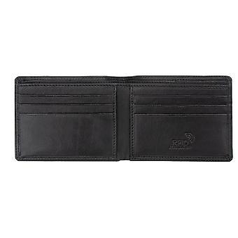 Primehide Mens Slim Leather Portefeuille RFID Bloquant Gents Card Holder Notecase 3101