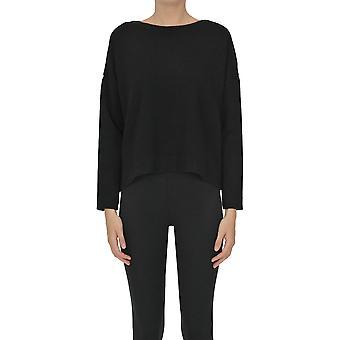 Base Milano Ezgl264060 Femmes-apos;s Pull en laine noire