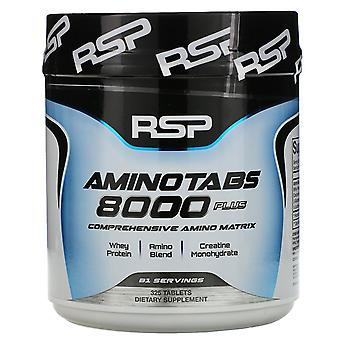 RSP Nutrition, AminoTabs 8000 Plus, 325 Tablets