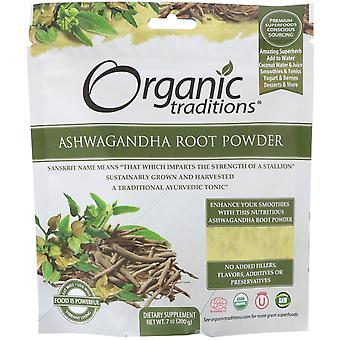 Organic Traditions, Ashwagandha Root Powder, 7 oz (200 g)
