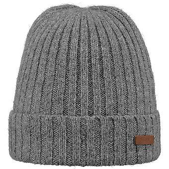 Barts Mens Haakon Turnup Warn Soft Knitted Walking Beanie Hat