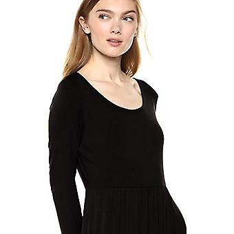 Brand - Daily Ritual Women's Jersey Long-Sleeve Empire-Waist Maxi Dres...