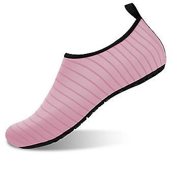 Slip-on Chaussures de sport pour l'eau et le yoga, Stl 38/39 - Rose