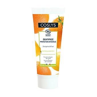 Volledige bescherming tandpasta - Oranje en Fluoride 75 ml