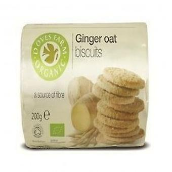 Doves Farm - Organic Ginger Oat Biscuit 200g