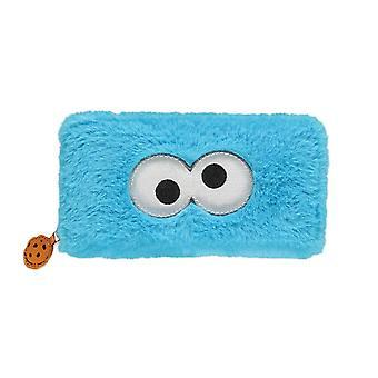 Sesame Street Cookie Monster Plush Clutch Purse