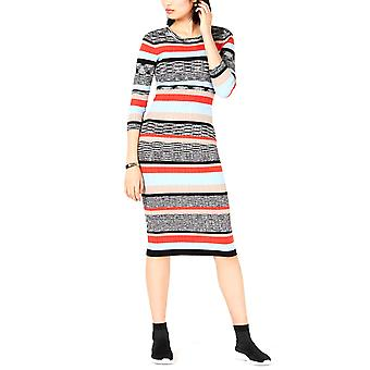 Bar III   Striped Sweater Dress