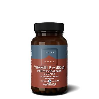 Terranova vitamine B12 500ug complex Vegicaps 50 (T0349)