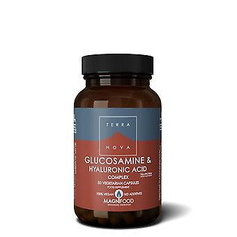 Terranova glukosamiini ja hyaluronihappokompleksi Vegicaps 50 (T3951)