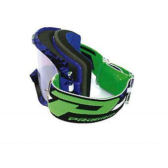 Progrip 3450-16FLBKBL Progrip Goggles - 3450 Fluorescent Lite Blue/Blk