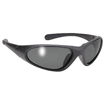 Pacific Coast 34430 Blaze Sunglasses - Black Frame/Smoke Lens