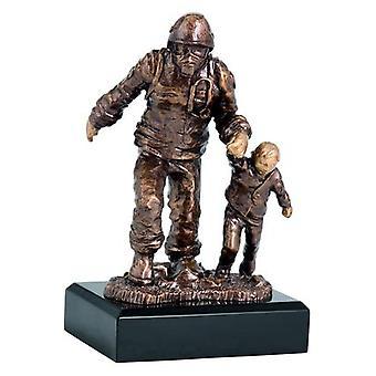 Figurine en fonte - Firefighter Rfst2020 / Br