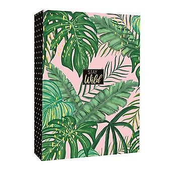 Stay Wild Jungle Design Mini Photo Album Holds 80 Photos 4 x 6