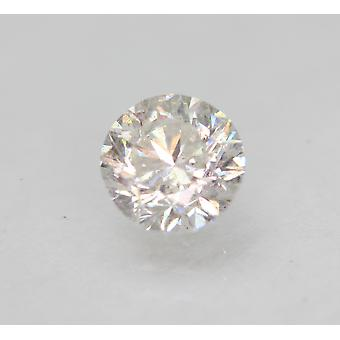 Zertifiziert 0.67 Carat E VS2 Round Brilliant Enhanced Natural Loose Diamond 5.46mm