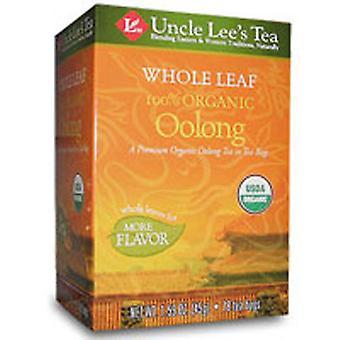 Uncle Lees Teas Whole Leaf 100% Organic Oolong Tea, 18 Bags