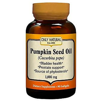 Only Natural Pumpkin Seed Oil, 90 Softgels