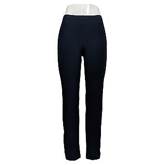 Women with Control Women's Pants (XXS) Regular W/Zipper Dtl Blue A301320