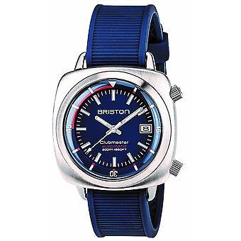 Briston Clubmaster Diver Watch - Blue/Steel