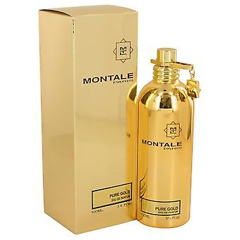 Montale rent gull Eau De Parfum Spray av Montale 3,4 oz Eau De Parfum Spray